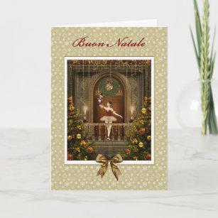 Italian christmas cards zazzle ballerina nutcracker italian buon natale card m4hsunfo