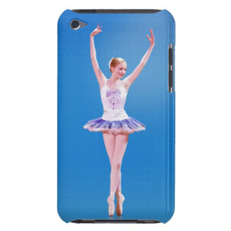 Ballerina on Blue Barely There iPod Cover