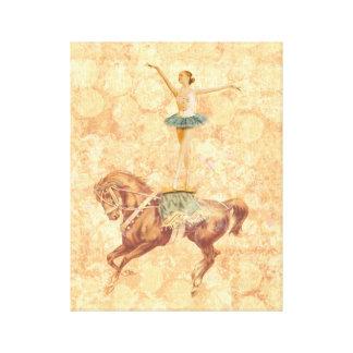 Ballerina on Horseback Canvas Print