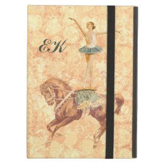Ballerina on Horseback, Monogram Case For iPad Air