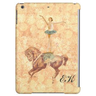 Ballerina on Horseback, Monogram Cover For iPad Air