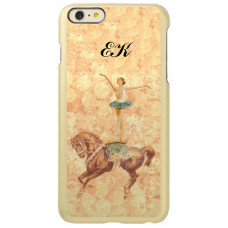 Ballerina on Horseback, Monogram Incipio Feather® Shine iPhone 6 Plus Case