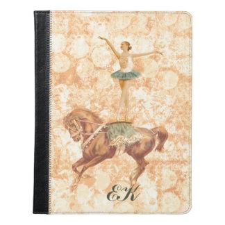 Ballerina on Horseback, Monogram iPad Case