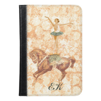 Ballerina on Horseback, Monogram iPad Mini Case