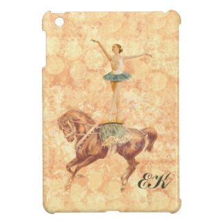 Ballerina on Horseback, Monogram iPad Mini Cases