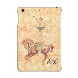 Ballerina on Horseback, Monogram iPad Mini Retina Case