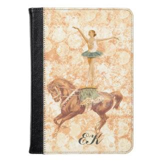Ballerina on Horseback, Monogram Kindle Case