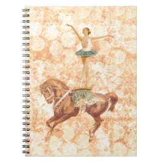 Ballerina on Horseback Notebooks