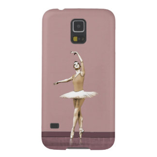 Ballerina On Pointe in Russet Tint Galaxy S5 Cases