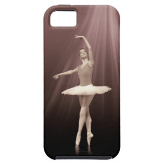 Ballerina On Pointe in Russet Tint iPhone SE/5/5s Case