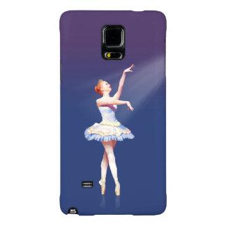 Ballerina On Pointe in Spotlight Galaxy Note 4 Case