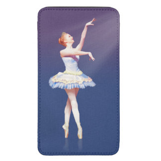 Ballerina On Pointe in Spotlight Galaxy S5 Pouch