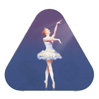 Ballerina On Pointe in Spotlight Speaker