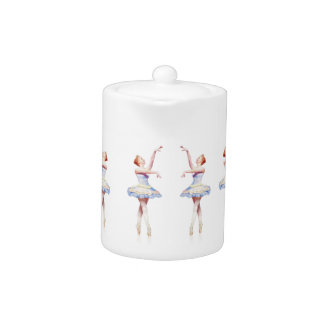 Ballerina On Pointe Teapot