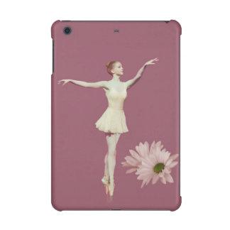 Ballerina On Pointe with Daisies Customizable iPad Mini Retina Covers