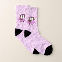 ballerina owl - socks