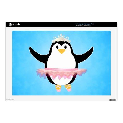 Ballerina Penguin Skin For Laptop