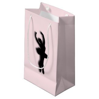 Ballerina Pink Small Gift Bag
