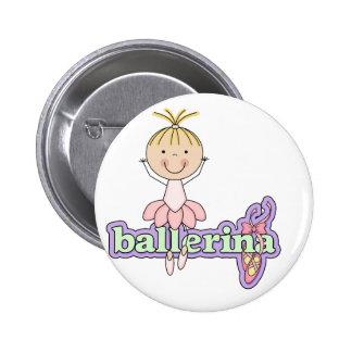 Ballerina - Pink Tshirts and Gifts Pins
