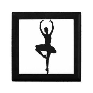 BALLERINA PIROUETTE (ballet dance silhouette) ~~ Gift Box