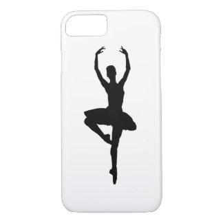 BALLERINA PIROUETTE (ballet dance silhouette) ~~ iPhone 8/7 Case