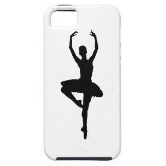 BALLERINA PIROUETTE (ballet dance silhouette) ~~ iPhone SE/5/5s Case
