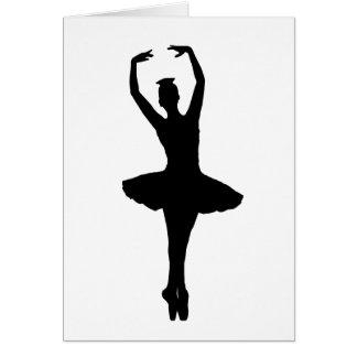 BALLERINA PIROUETTE EN POINTE (Ballet Dancer) ~ Card