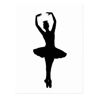 BALLERINA PIROUETTE EN POINTE (Ballet Dancer) ~ Postcard