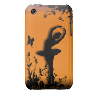 Ballerina Pirouette in Garden iPhone 3G/3GS Case