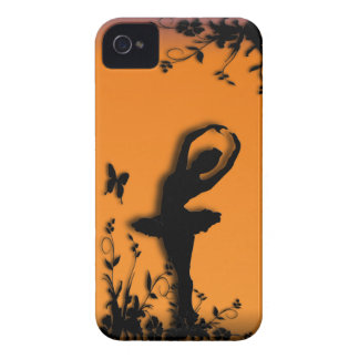 Ballerina Pirouette in Garden iPhone 4 Case-Mate Case