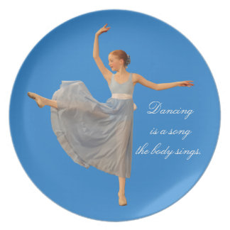 Ballerina Plate Customizable