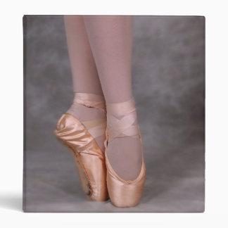 Ballerina point shoes binder
