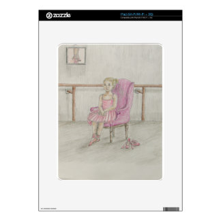 ballerina portrait skin for the iPad