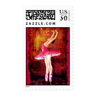 Ballerina Postage