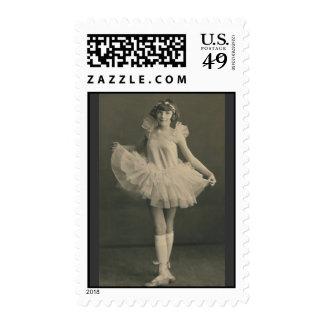 ballerina postage stamp