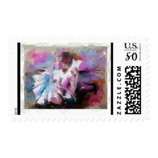 Ballerina Postage Stamps