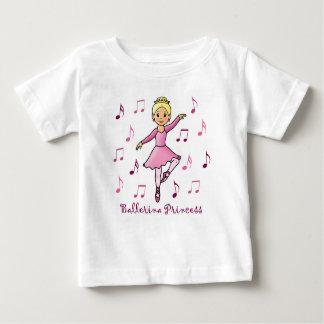 Ballerina Princess Baby T-Shirt