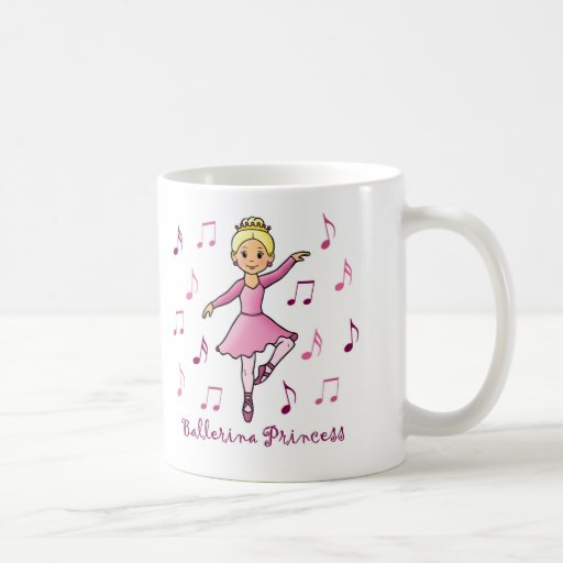 Ballerina Princess Coffee Mug