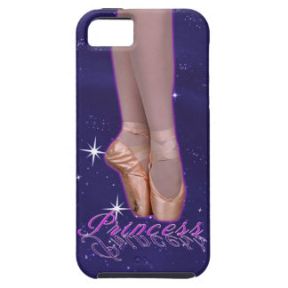 Ballerina princess in her point shoes iPhone 5 cases