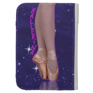 Ballerina princess in her point shoes kindle keyboard cases