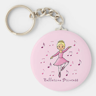 Ballerina Princess Key Chains