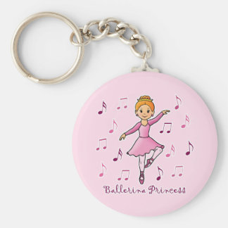 Ballerina Princess Keychain
