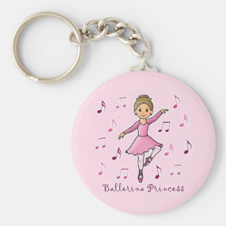 Ballerina Princess Key Chain