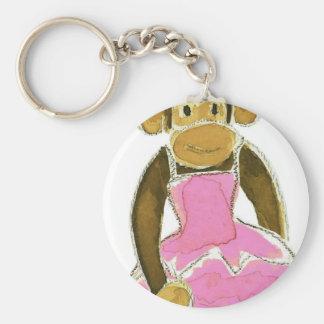 Ballerina Princess Monkey Key Chains