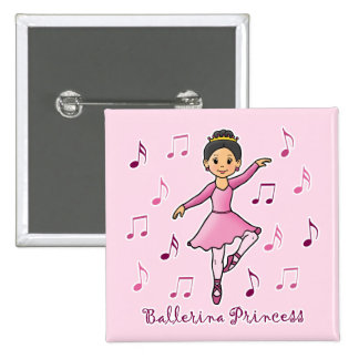 Ballerina Princess Pins
