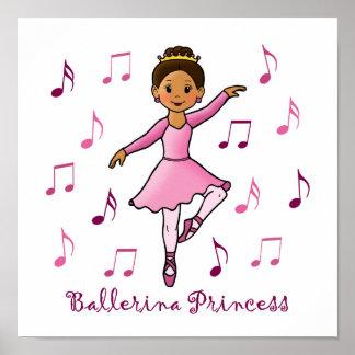 Ballerina Princess Print