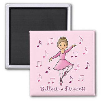 Ballerina Princess Refrigerator Magnets
