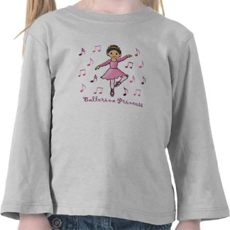 Ballerina Princess T-shirts