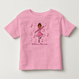 Ballerina Princess Toddler T-shirt