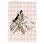 Ballerina Shoes Greeting Cards